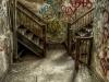 Dueling stairwells
