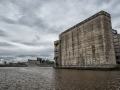 Out on the Water in Front of the Grain Silos