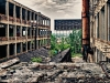 The inbetween of the Packard Plant
